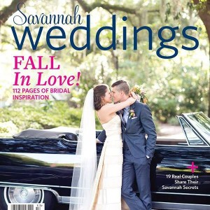 "Savannah Weddings Magazine, Fall/Winter 2015-16 Feature, Pages 68-71: ""About Town"" Jessica & Michael"