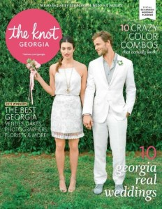 The Knot Georgia Magazine, Fall/Winter 2015 Feature, Pages 105-108: Amanda & Enmanuel