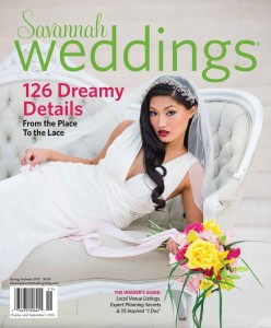 Savannah Weddings Magazine, Spring 2015 Double Feature: pages 72 and 88
