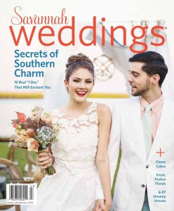 "Savannah Weddings Magazine, Fall 2014 Feature, Pages 60-61: Red, White ""I Do"""